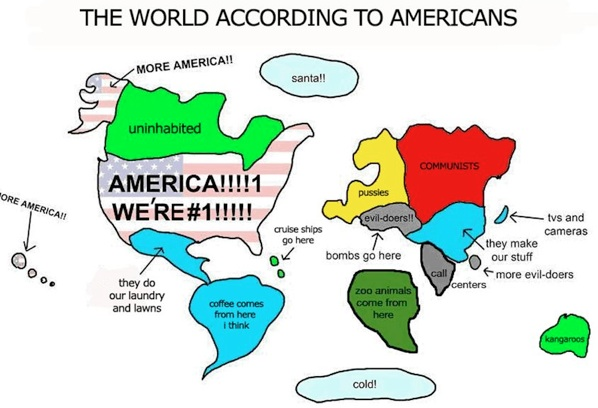 World-Accoring-to-Americans-Map